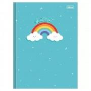 Caderno Brochurão CD 80 Folhas Rainbow 1 Tilibra