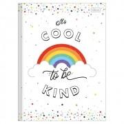 Caderno Brochurão CD 80 Folhas Rainbow 4 Tilibra