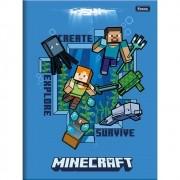 Caderno Brochurão CD 96 Folhas Minecraft 3 Foroni