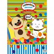 Caderno Brochurão Linguagem CD 40 Folhas Au Au e Miau 2 São Domingos