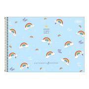 Caderno de Cartografia e Desenho CD 80 Folhas Rainbow 1 Tilibra