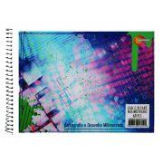 Caderno de Cartografia e Desenho Milimetrado CD 60 Folhas Máxima