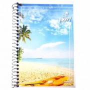 Caderno Espiral 1/4 CF 96 Folhas Happy 2 Credeal
