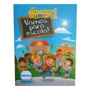 Caderno Pedagógico Pauta Azul CD 40 Folhas Tamoio 3
