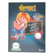 Caderno Pedagógico Pauta Verde CD 40 Folhas Tamoio 3