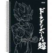 Caderno Universitário 10x1 CD 160 Folhas Dragon Ball 4 São Domingos