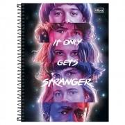 Caderno Universitário 10x1 CD 160 Folhas Stranger Things 2 Tilibra