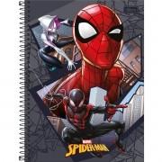 Caderno Universitário 1x1 CD 80 Folhas Spider Man Light 4 Tilibra