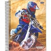 Caderno Universitário 1x1 CD 80 Folhas Sport 2 Jandaia