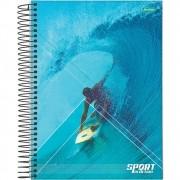 Caderno Universitário 1x1 CD 80 Folhas Sport 3 Jandaia