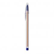 Caneta Esferográfica Cristal Fina 0,8mm Azul Bic