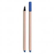 Caneta Hidrográfica Microline 0.4 Azul Escuro Compactor