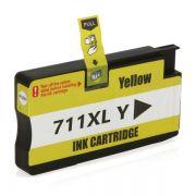 Cartucho Compatível HP 711XL CZ132A T520 T120 CQ890A CQ891A CQ893A - Amarelo