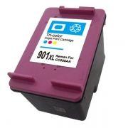 Cartucho Compatível HP 901XL CC656AB Colorido