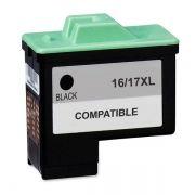 Cartucho Compatível Lexmark 16/17XL 10N0016/10N0217 Preto