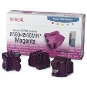 Cera Original Xerox Phaser 8560 108R00765 - Magenta - Caixa c/ 3 unidades