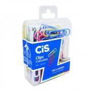 Clips Coloridos nº 2 com 100 unidades Cis