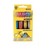 Cola Glitter Acrilex 15g - 4 Cores