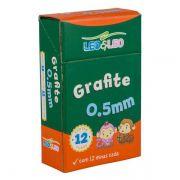 Grafite 0,5mm HB com 12 Unidades Leo e Leo - Caixa c/ 12 tubos