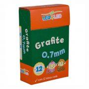Grafite 0,7mm HB com 12 Unidades Leo e Leo - Caixa c/ 12 tubos