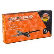 Grampo Trilho Metal 50 Unidades Jocar Office