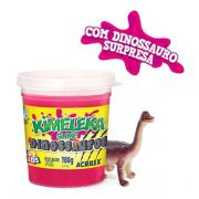Kimeleka Slime Dinossauros 180g Rosa Acrilex