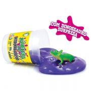 Kimeleka Slime Dinossauros 180g Violeta Acrilex