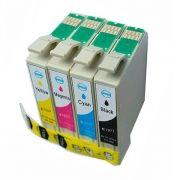 Kit Cartucho Compatível Epson 197 196 T197120 T196220 T196320 T196420