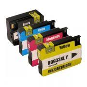 Kit Cartucho Compatível HP 932XL 933XL