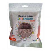 Kit Massa para Artesanato Flocada Metálica 1 50g Leonora