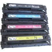 Kit Toner Compatível HP 125A 128A 131A
