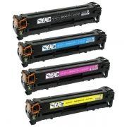 Kit Toner Compatível HP 304A CC530A CC531A CC532A CC533A