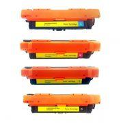 Kit Toner Compatível HP 504A CE250A CE251A CE252A CE253A CE400A CE401A CE402A CE403A