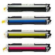 Kit Toner Compatível HP 126A CE310A CE311A CE312A CE313A CP1020 CP1025 M175 M176 M177 M275
