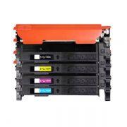 Kit Toner Compatível Samsung 404S CLT-K404S CLT-C404S CLT-M404S CLT-Y404S C430 C433 C480