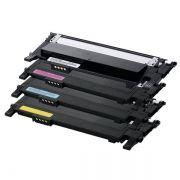 Kit Toner Compatível Samsung CLT-K406S CLT-C406S CLT-M406S CLT-Y406S CLP360 CLP365 CLX3305 C460W