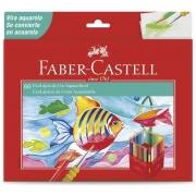 Lápis de Cor 60 Cores Aquarelável Faber-Castell