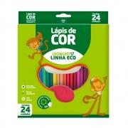 Lápis de Cor Eco 24 Cores Leo e Leo