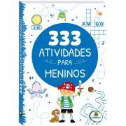 Livro Infantil 333 Atividades para Meninos Brasileitura