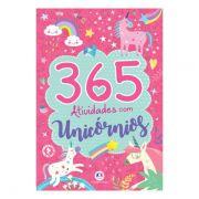 Livro Infantil 365 Atividades de Unicórnios Ciranda Cultural