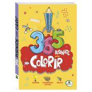Livro Infantil 365 Desenhos para Colorir Brasileitura