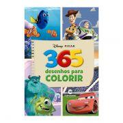 Livro Infantil 365 Desenhos Para Colorir Disney Pixar Culturama