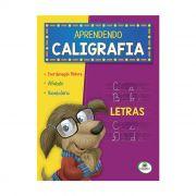 Livro Infantil Aprendendo Caligrafia Letras Brasileitura