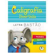 Livro Infantil Caligrafia Divertida Letra Bastão Brasileitura