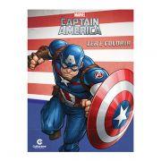 Livro Infantil Capitão América Ler e Colorir Culturama