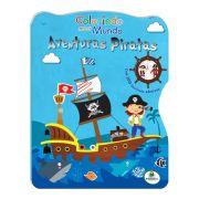 Livro Infantil Colorindo Meu Mundo Aventuras Piratas Brasileitura