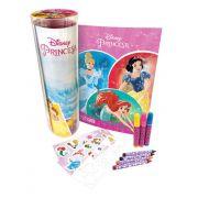 Livro Infantil no Tubo Princesas Disney DCL