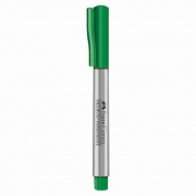 Marcador Multiuso Permanente Verde Escuro Faber-Castell