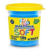 Massa de Modelar Soft 150g Azul Acrilex