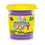 Massa de Modelar Soft 500g Violeta Acrilex